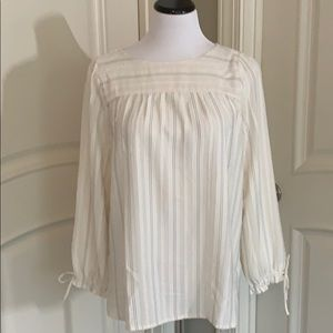 MP tie sleeve top from Loft
